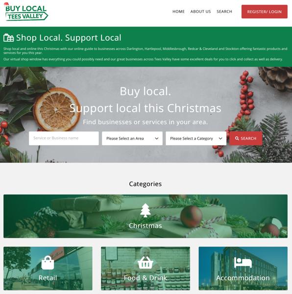 Buy Local Tees Valley screenshot