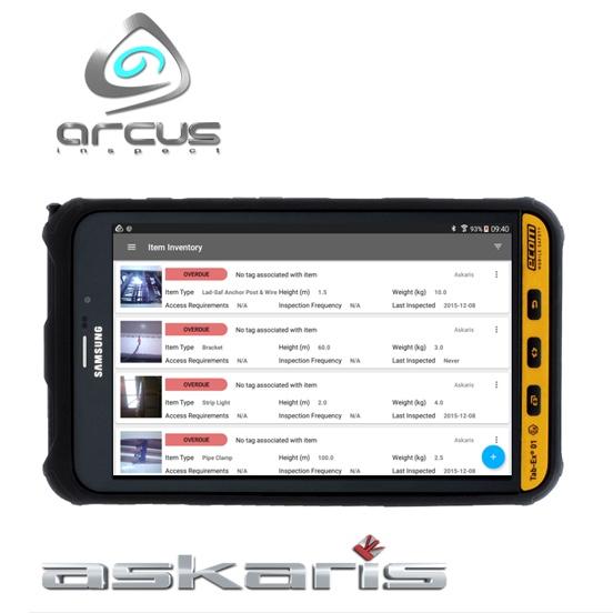 Arcus Inspect by Askaris - Asset  inspection software